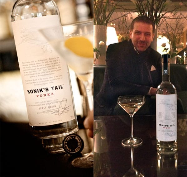 Pleurat Shabani created Konik's Tail vodka and launched it in 2007