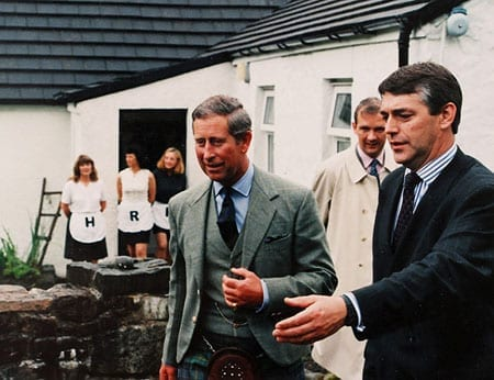 Prince Charles and Louis Theroux were amongst personalities known to have visited Jimmy Savile at Allt-Na-Reigh