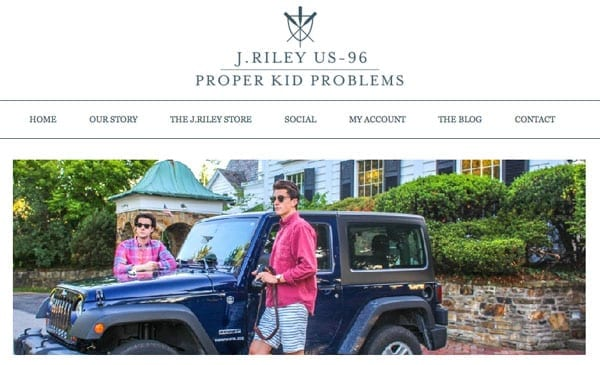The home page of Proper Kid Problems