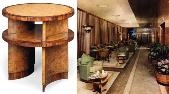 Queen Mary table