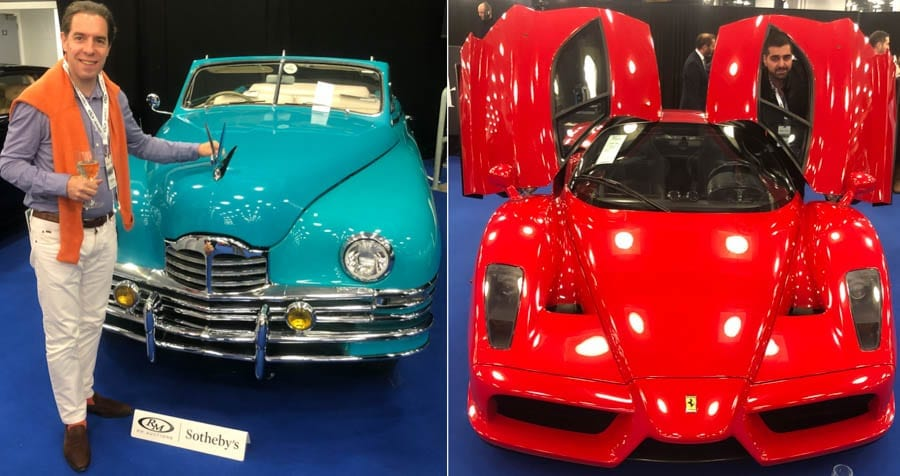 A Car Curate's Egg – 2019 RM Sotheby's London sale. Results. An analysis of the results at the 2019 RM Sotheby's London sale at Olympia on Friday 25th October.