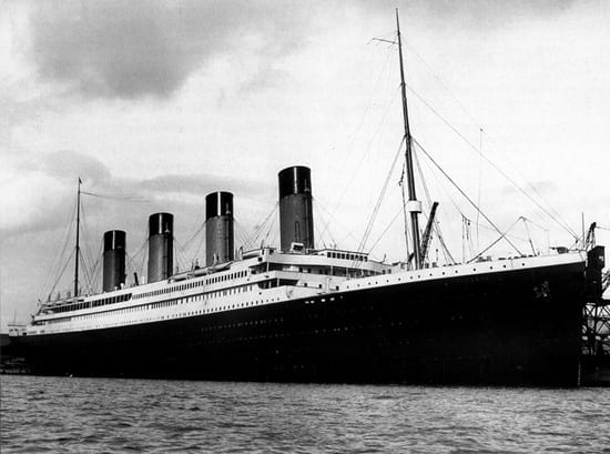 The White Star Line's RMS Titanic