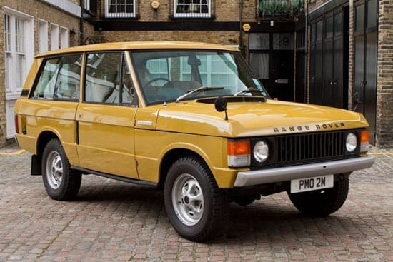 Hexagon Classics offer this 1973 Range Rover Classic for just under £40,000