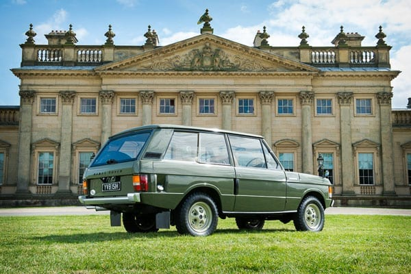 Range Rover Chassis #001