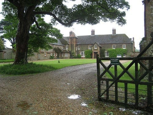 Another view of Anmer Hall
