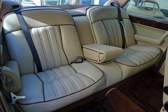 The rear seats provide ample comfort also