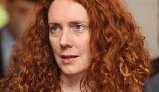 Surely Rebekah Brooks wasn't the person on which Merida was based