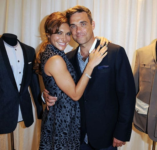 Robbie and Ayda Willams