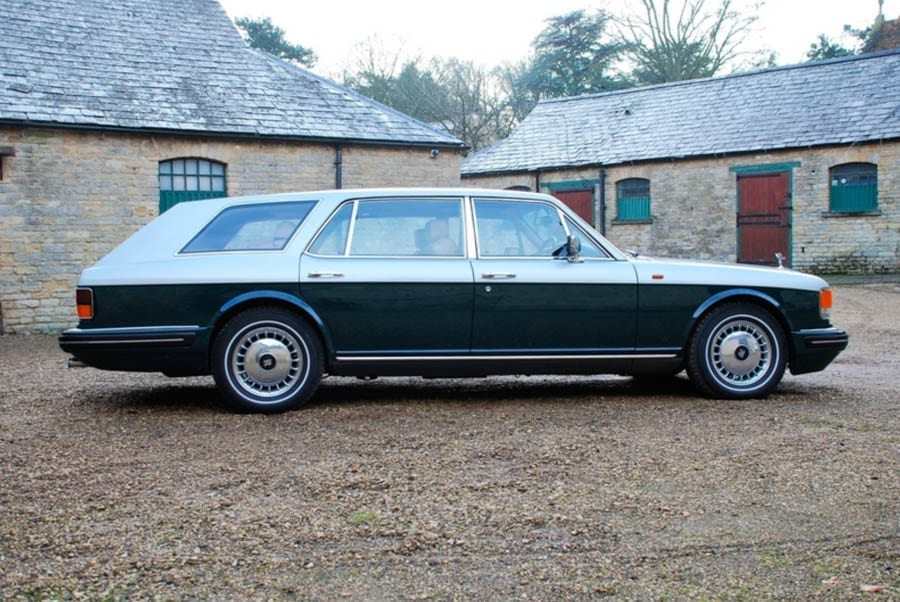 A Rolls for an Estate – Unusual 1995 Rolls-Royce Flying Spur estate car for sale for just shy of £99,000 ($138,000, €112,000 or درهم508,000) through Desmond J. Smail of Olney, Buckinghamshire.