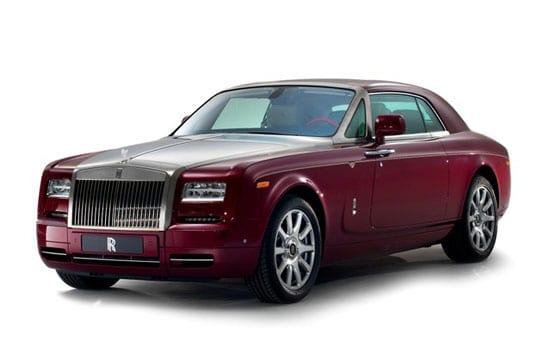 The one-off Rolls-Royce Phantom Coupe Ruby Limited Edition