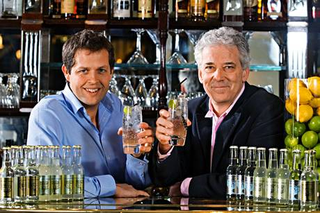 Fever-Tree founders Charles Rolls and Tim Warrilow with their range