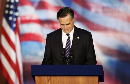 """In November, after losing to Obama, Mitt Romney conceded with the words: """"I pray that the President will be successful in guiding our nation"""".  The world was delighted that America had seen sense."""