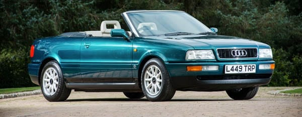 Di's Drive – 1994 Audi 80 2.3-litre cabriolet – Princess of Wales, Princess Di, Princess Diana and Iain Dale – For sale – Silverstone Auctions – 12th November 2016