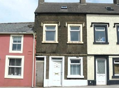 The exterior of this 4-bedroom £10,000 terraced house at Vale View, Egremont, Cumbria, CA22 2RG