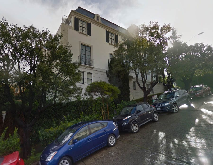 Anything But A Steel – 1994 Jackson Street, Pacific Heights, San Francisco, California, CA 94109, United States of America – For sale for £8.40 million ($10.75 million, €9.62 million or درهم39.50 million) through Malin Giddings of SF Properties and designed by Ken Fulk – Next door to Danielle Steel's Spreckels Mansion at 2080 Washington Street