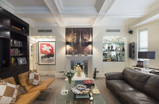 Sir Bernard and Lady Docker's former apartment is for sale with agents Wetherell and has been suitably styled by the Pullman Gallery