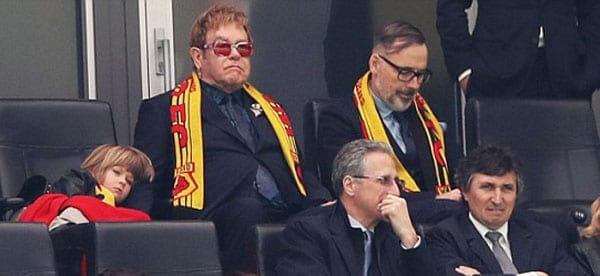 Public Elton - Sir Elton John and David Furnish