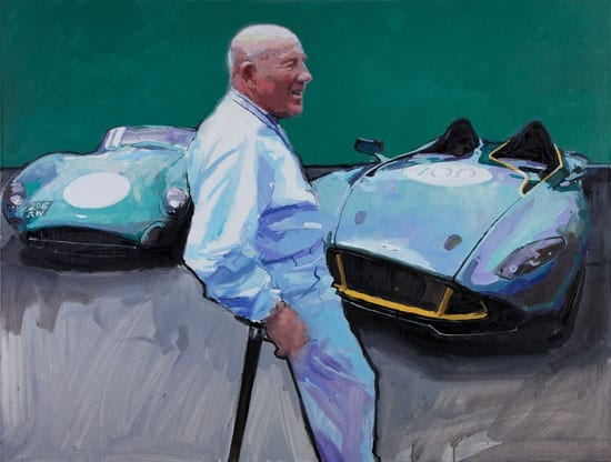 Sir Stirling Moss by James Hart Dyke