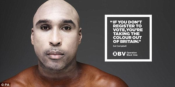 Saluting Sol - Sol Campbell - Operation Black Vote
