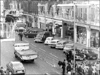 The Spaghetti House siege resulted in the main road in Knightsbridge being closed for a number of days