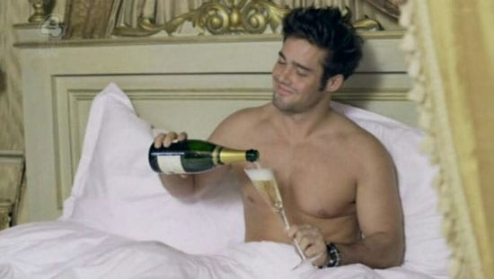 Spencer Matthews likes to share his drinking habits with the public