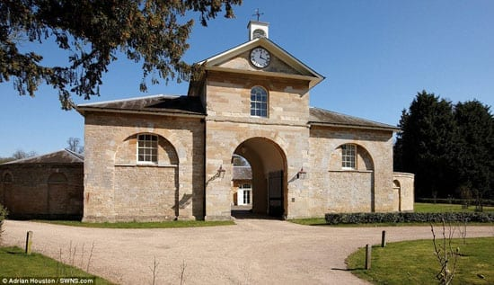 The estate includes a stable block that has been converted to provide additional guest accommodation