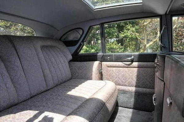 'Stardust's' interior was designed to provide the ultimate comfort for Sir Bernard and Lady Docker