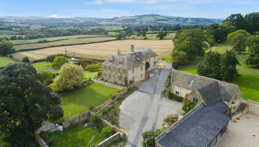 Unfinished Business – £16.5 million ($21.6 million, €18.8 million or درهم78.9 million) for Sudeley Lodge, Sudeley Road, Winchcombe, Gloucestershire, GL54 5JB, United Kingdom through estate agent Knight Frank – 519 acre Gloucestershire estate goes on sale for £16.5 million in spite of needing a further £1.5 million spent on it.
