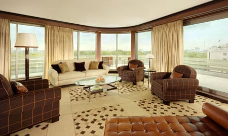 One of 45 Park Lane's 45 rooms and suites