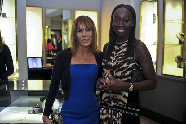 """It-Girl"" Tara Palmer-Tomkinson and Knightsbridge Village founder Nana Coles"