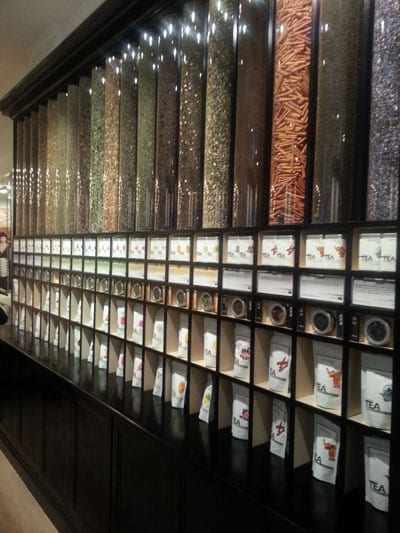 Amanzi stocks an impressive range of teas