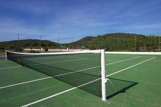 Other facilities include a tennis court, football pitch and quad bike trail