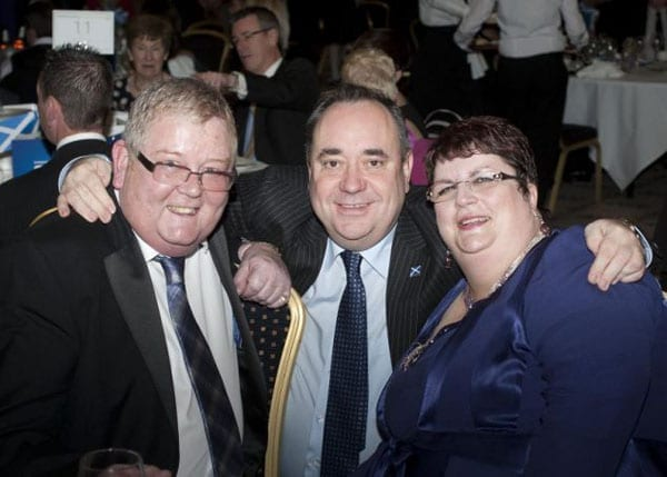 That the best backers Alex Salmond could muster were lottery winners Colin and Christine Weir speaks volumes