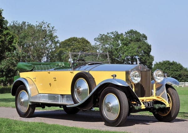 But this 1929 Rolls Royce Phantom I Tourer achieved a disappointing £210,000