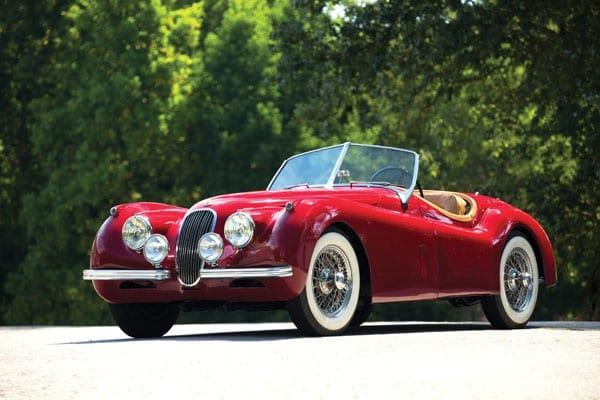 The 1953 Jaguar XK120 Roadster heads to auction on 10th October 2014 at the RM Auctions Hershey sale