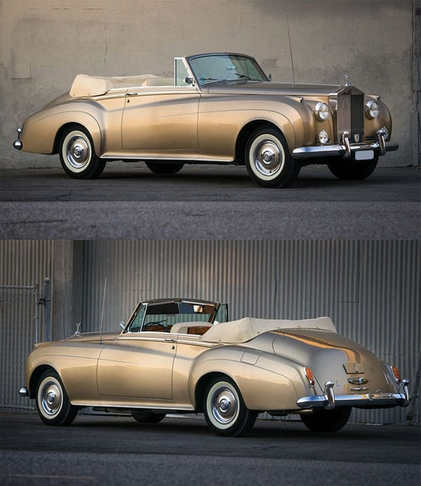 Cruising in a Cloud - 1962 Rolls-Royce Silver Cloud II 'Adaption' drophead coupé offered by RM Sotheby's at 28th January 2016 Arizona sale – £279,000 to £331,000 ($400,000 to $475,000)