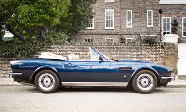 The 1989 Aston Martin V8 Volante Prince of Wales specification is for sale for £450,000
