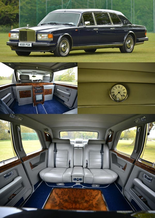 A Brunei double – Rolls-Royces originally owned by Sultan of Brunei for sale – 1984 Rolls-Royce Phantom VI limousine and 1993 Rolls-Royce Mulliner Spur III touring limousine – £320,000 and £54,000 – Vintage & Prestige Fine Motorcars – Richard Biddulph