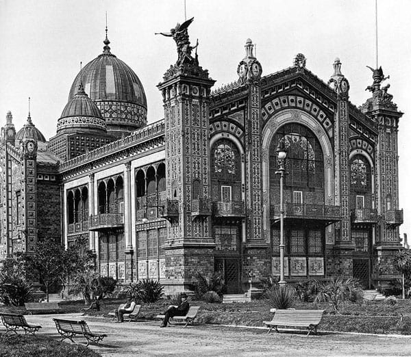 The Argentine Pavilion was an amazing structure