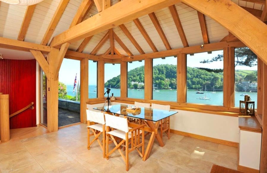 Ratty on The River – A dream house for 'The Wind In The Willows' character Ratty; Devon boathouse for sale for £2.5 million – The Boathouse, Beacon Road, Kingswear, Devon, TQ6 0BS, United Kingdom – For sale through Savills for £2.5 million ($3.5 million, €2.9 million or درهم12.9 million)