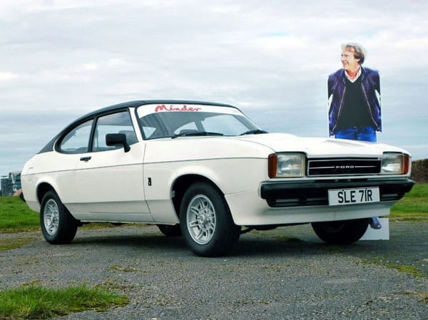 Minder mobiles – 1981 Daimler Sovereign 4.2-litre and 1977 Ford Capri used in television series Minder to be auctioned on 20th April 2016 in the H&H Classics Imperial War Museum Duxford Sale