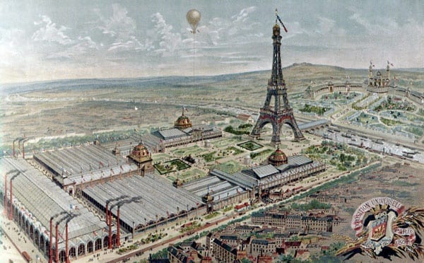 The Exposition Universelle of 1889 was a fair of the spectacular