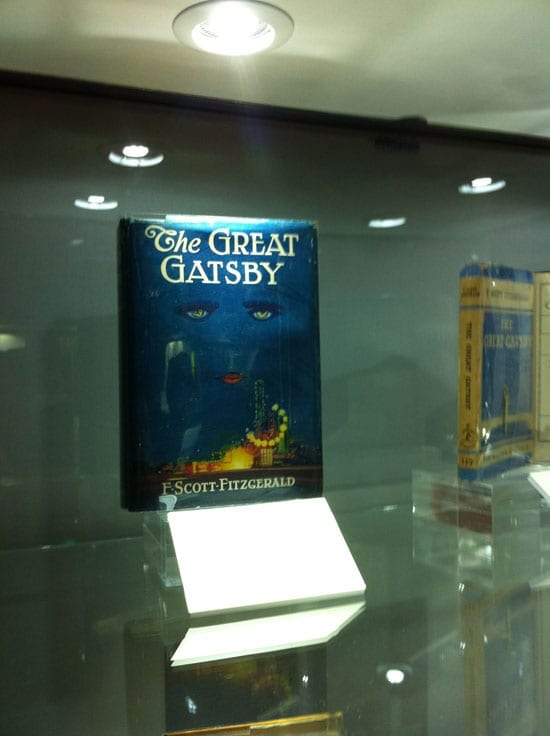 The copy of 'The Great Gatsby' for sale with Peter Harrington for £120,000