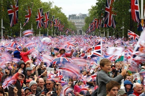 2012 was the year of Her Majesty The Queen's Diamond Jubilee. The nation celebrated with gusto and joy reigned throughout the land.