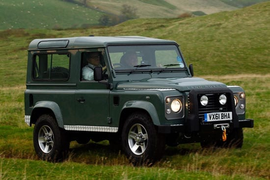 The Land Rover Defender forever will be The Best 4x4 By Far