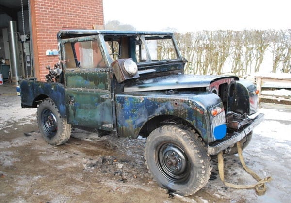 A ludicrous Land Rover - Land Rover Series I diesel - Chassis 116700001