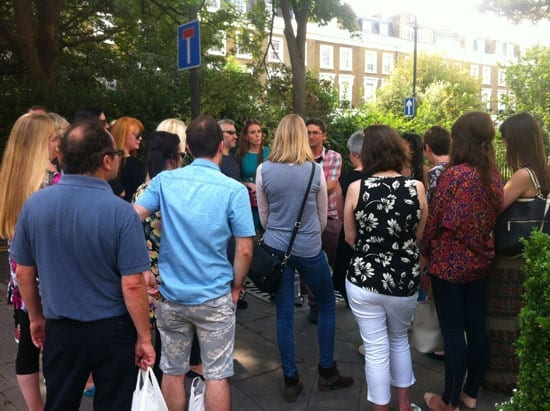 The 'Made in Chelsea' tour group