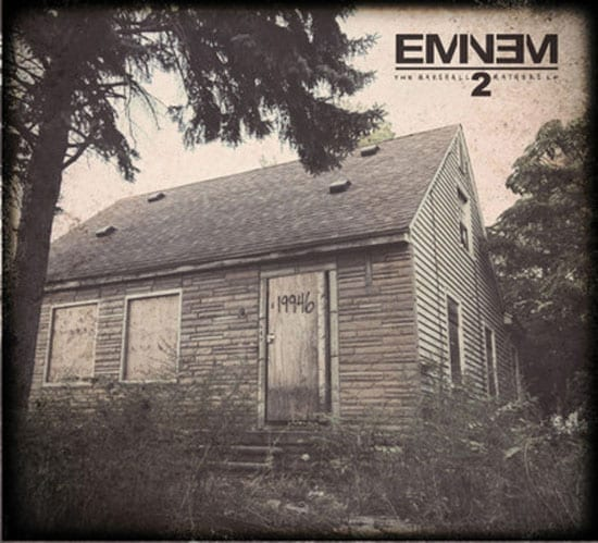 "It will also feature on his forthcoming ""The Marshall Mathers LP 2"" cover"