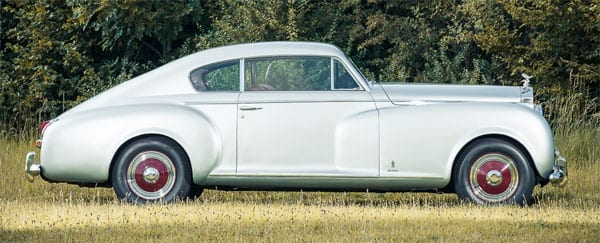 The Rolls Royce Silver Dawn coupé by Pininfarina is expected to make £375,000 to £425,000