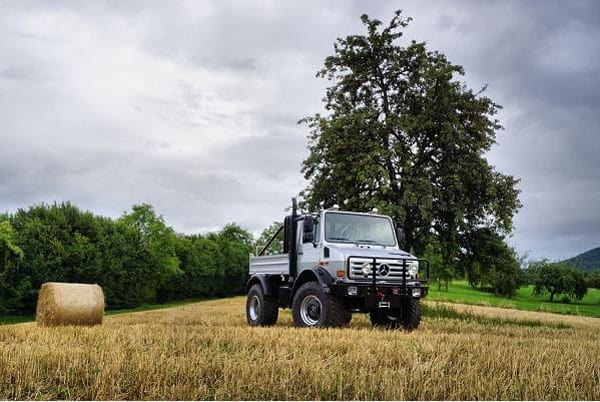 The Unimog is a vehicle best suited to the countryside